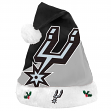 San Antonio Spurs 2018 NBA Basic Logo Plush Christmas Santa Hat