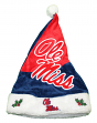 Mississippi Ole Miss Rebels 2018 NCAA Basic Logo Plush Christmas Santa Hat