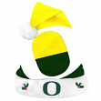 Oregon Ducks 2018 NCAA Basic Logo Plush Christmas Santa Hat