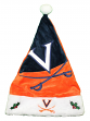 Virginia Cavaliers 2018 NCAA Basic Logo Plush Christmas Santa Hat