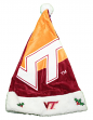 Virginia Tech Hokies 2018 NCAA Basic Logo Plush Christmas Santa Hat