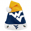 West Virginia Mountaineers 2018 NCAA Basic Logo Plush Christmas Santa Hat