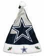 Dallas Cowboys 2018 NFL Basic Logo Plush Christmas Santa Hat
