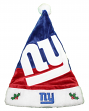 New York Giants 2018 NFL Basic Logo Plush Christmas Santa Hat