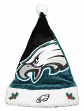 Philadelphia Eagles 2018 NFL Basic Logo Plush Christmas Santa Hat