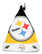 Pittsburgh Steelers 2018 NFL Basic Logo Plush Christmas Santa Hat