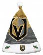 Las Vegas Golden Knights 2018 NHL Basic Logo Plush Christmas Santa Hat