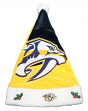 Nashville Predators 2018 NHL Basic Logo Plush Christmas Santa Hat