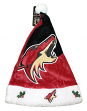 Phoenix Coyotes 2018 NHL Basic Logo Plush Christmas Santa Hat