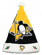 Pittsburgh Penguins 2018 NHL Basic Logo Plush Christmas Santa Hat