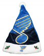 St. Louis Blues 2018 NHL Basic Logo Plush Christmas Santa Hat