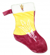 Arizona State Sun Devils 2018 NCAA Basic Logo Plush Christmas Stocking