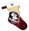 Florida State Seminoles 2018 NCAA Basic Logo Plush Christmas Stocking