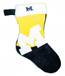 Michigan Wolverines 2018 NCAA Basic Logo Plush Christmas Stocking
