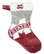 Mississippi State Bulldogs 2018 NCAA Basic Logo Plush Christmas Stocking