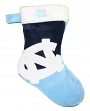 North Carolina Tarheels 2018 NCAA Basic Logo Plush Christmas Stocking