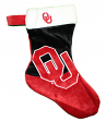 Oklahoma Sooners 2018 NCAA Basic Logo Plush Christmas Stocking