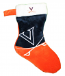 Virginia Cavaliers 2018 NCAA Basic Logo Plush Christmas Stocking