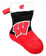 Wisconsin Badgers 2018 NCAA Basic Logo Plush Christmas Stocking