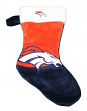 Denver Broncos 2018 NFL Basic Logo Plush Christmas Stocking
