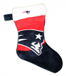 New England Patriots 2018 NFL Basic Logo Plush Christmas Stocking