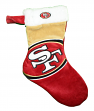 San Francisco 49ers 2018 NFL Basic Logo Plush Christmas Stocking