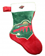 Minnesota Wild 2018 NHL Basic Logo Plush Christmas Stocking