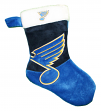 St. Louis Blues 2018 NHL Basic Logo Plush Christmas Stocking