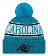 Carolina Panthers New Era 2018 NFL Sideline On Field Sport Knit Hat - Blue