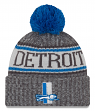 "Detroit Lions New Era 2018 NFL Historic ""Sport Knit"" Cuffed Hat - Graphite"