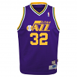 Karl Malone Utah Jazz NBA Youth Throwback Swingman Jersey