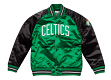 "Boston Celtics Mitchell & Ness NBA ""Tough Season"" Premium Satin Jacket"