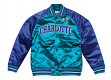 "Charlotte Hornets Mitchell & Ness NBA ""Tough Season"" Premium Satin Jacket"