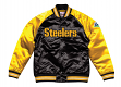 "Pittsburgh Steelers Mitchell & Ness NFL ""Tough Season"" Premium Satin Jacket"