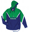 "Seattle Seahawks Mitchell & Ness NFL Men's ""Anorak"" 1/2 Zip Pullover Jacket"