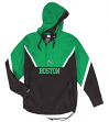 "Boston Celtics Mitchell & Ness NBA Men's ""Anorak"" 1/2 Zip Pullover Jacket"