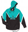 "Vancouver Grizzlies Mitchell & Ness NBA Men's ""Anorak"" 1/2 Zip Pullover Jacket"