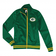 "Green Bay Packers Women's Mitchell & Ness NFL ""Gametime"" Premium Track Jacket"