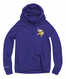 "Minnesota Vikings Women's Mitchell & Ness NFL ""Offsides"" Funnel Neck Sweatshirt"