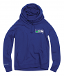 "Seattle Seahawks Women's Mitchell & Ness NFL ""Offsides"" Funnel Neck Sweatshirt"