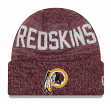 "Washington Redskins New Era NFL ""Crisp Colored"" Cuffed Knit Hat"