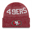 "San Francisco 49ers New Era NFL ""Crisp Colored"" Cuffed Knit Hat"