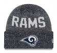 "Los Angeles Rams New Era NFL ""Crisp Colored"" Cuffed Knit Hat"