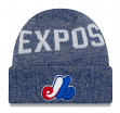 """Montreal Expos New Era MLB Cooperstown """"Crisp Colored"""" Cuffed Knit Hat"""