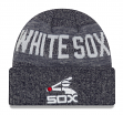 """Chicago White Sox New Era MLB Cooperstown """"Crisp Colored"""" Cuffed Knit Hat"""