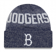 "Brooklyn Dodgers New Era MLB Cooperstown ""Crisp Colored"" Cuffed Knit Hat"