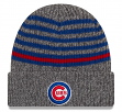 """Chicago Cubs New Era MLB """"Stripe Strong"""" Cuffed Knit Hat"""