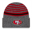 "San Francisco 49ers New Era NFL ""Stripe Strong"" Cuffed Knit Hat"