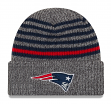 "New England Patriots New Era NFL ""Stripe Strong"" Cuffed Knit Hat"