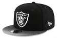 "Oakland Raiders New Era 9FIFTY NFL ""Melton Mixer"" Snapback Hat"